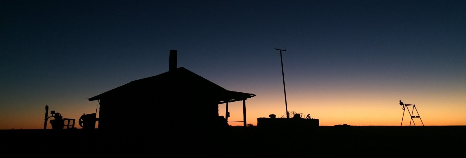 GOLDSTONE_HUT_DUSK