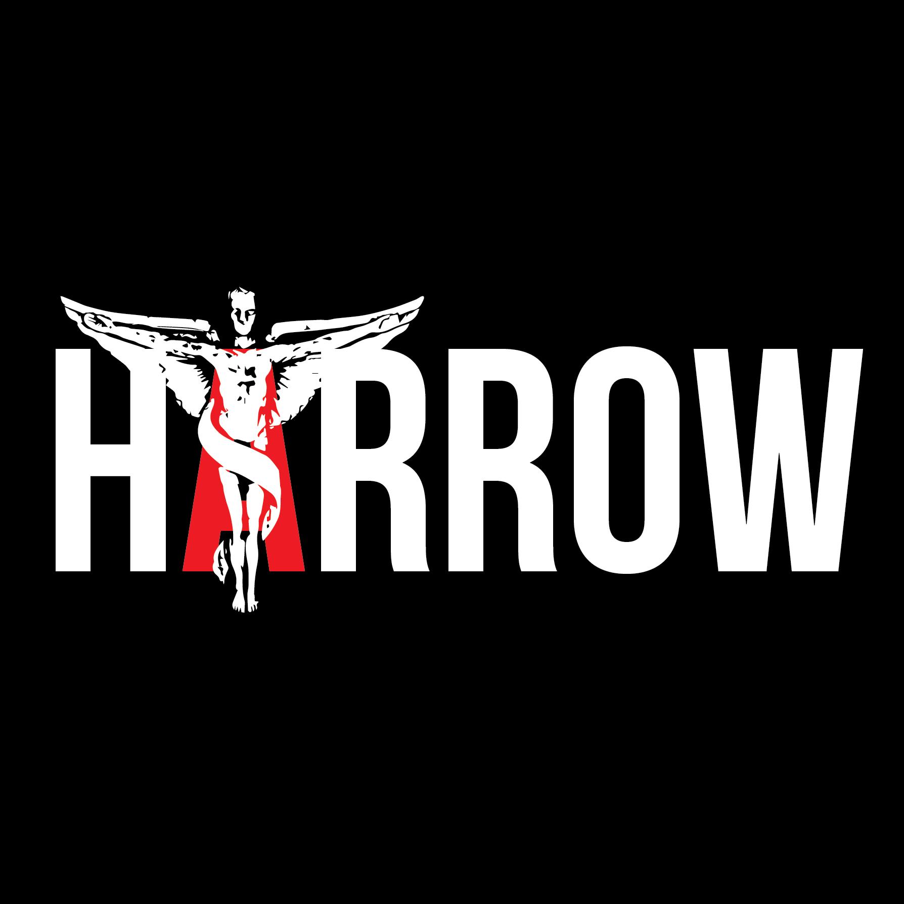HARROW_LOGO_WHTonBLK_SQ